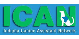 Indiana Canine Assistant Network (ICAN) Logo