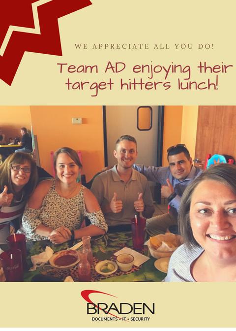 Team AD Celebrate